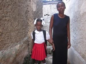 Free schooling in Haiti