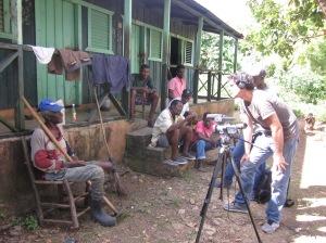 Sugar cane cutter in the Dominican Republic