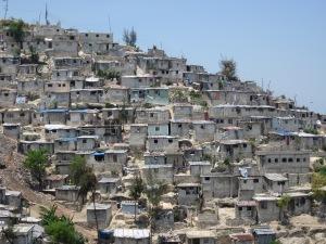 Jalousie slum in Port-au-Prince, Haiti