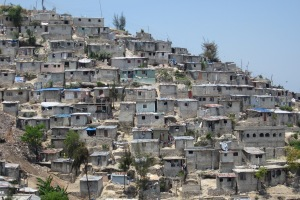 Jalousie slum in Port-au-Prince, Haiti