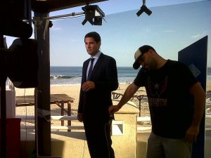 Ross Velton talking live to Beijing from the G20 summit in Los Cabos, Mexico