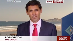 Ross Velton, G20 summit, Los Cabos, Mexico