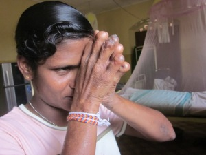 A few old men and women have been living at the Hendala Leprosy Hospital in Sri Lanka for most of their lives.