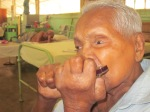 A few old men and women have been living at the Hendala Leprosy Hospital in Sri Lanka for most of their lives